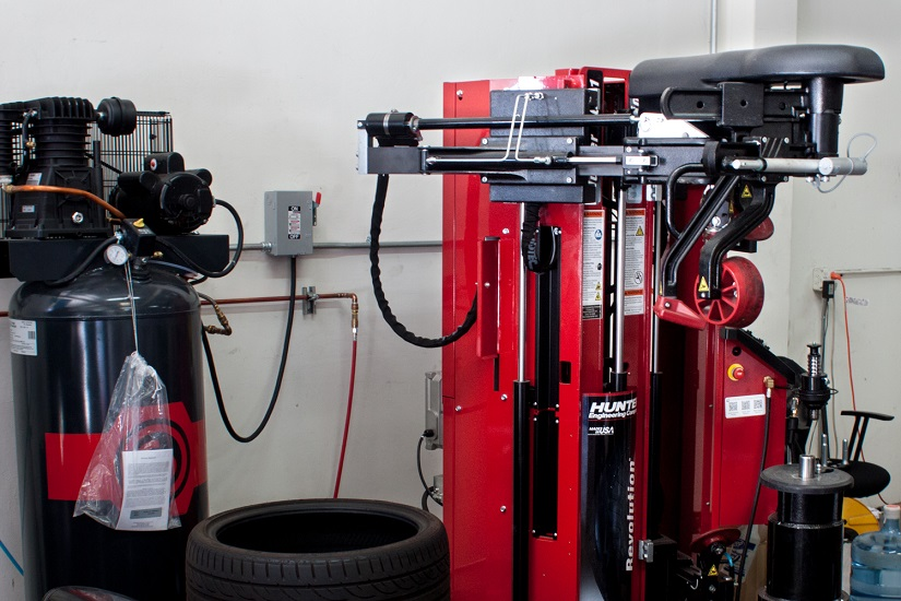 Professional tire machine, Tire installation, mount and balance, tire sales, tire repair, Balancing, tires,